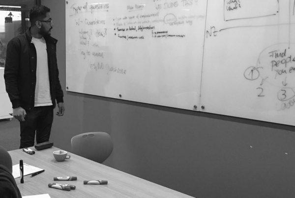 dark matter team working on video strategy